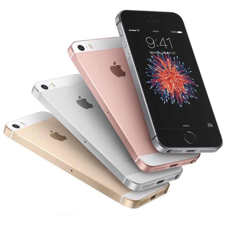 """Oryginalny Apple iPhone SE odblokowany 4G LTE telefon komórkowy z systemem iOS Touch ID układu A9 z podwójnym rdzeniem 2G RAM 16/64GB ROM 4.0 """"12.0MP telefon komórkowy"""