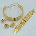Tamaño grande conjunto de etiopía etiopía joyería plateada oro africano conjuntos de joyas de boda, boda habesha kedis #026a020 étnico tribal