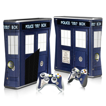 Doctor Who Tardis Skin Sticker for Xbox 360 and Controllers  1