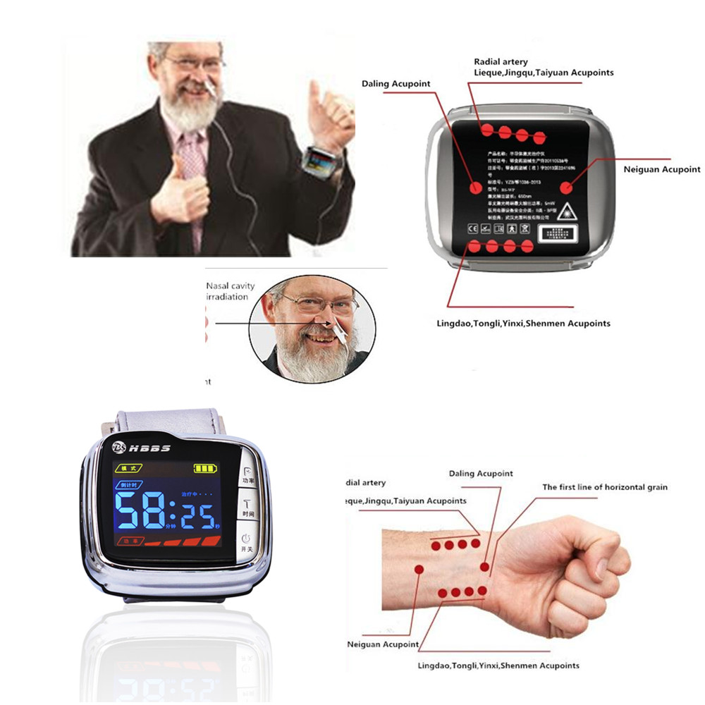 Products elderly care products elderly care products product on - Elderly Care Products Wrist Rhinitis Nasal Laser Therapy Device Lllt Treat Hypertension Diabetes China