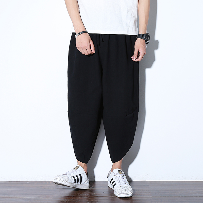 Полосатые спортивные штаны с трафаретным принтом, уличные мужские спортивные штаны с эластичной талией, спортивные штаны для бега - Цвет: color10