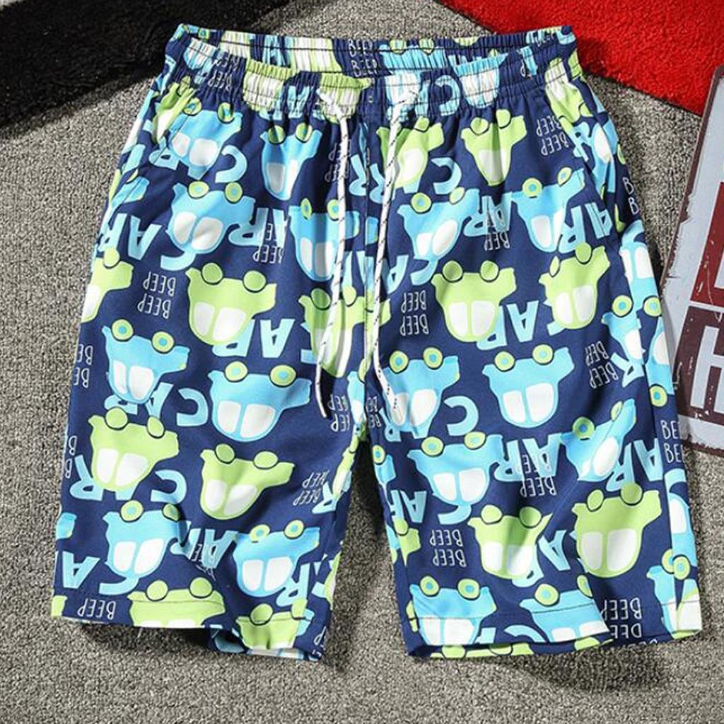 Briefs Pants Trunks Swim-Shorts Beach-Wear Swimming Breathable for Men Running