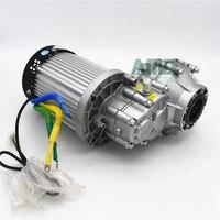 1000 Вт/1200 Вт DC 48/60/72V2750rpm высокая скорость бесщеточный дифференциального двигателя для электрический трицикл, BM1412HQF