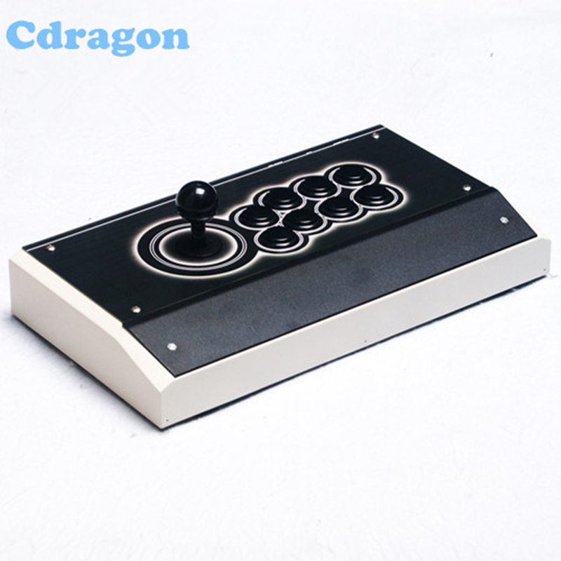 Cdragon arcade joystick metel PC street fighting game controller USB gamepad for Windows XP Win7 Win8 Win10 plug nygacn usb controller gamepad arcade rocker android game pc game and play street fighting feeling arcade game special