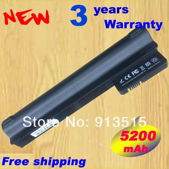 5200 mAH batterie pour Compaq Mini 102 mini 110c CQ10 CQ10-100 pour Hp mini 110 mini110 mini110-1000 537626-001 HSTNN-CB0C