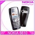 6610 Оригинальный Nokia 6610 разблокирована 6610i телефон с Русский и Арабский клавиатура и Язык груза падения