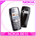 6610 Original Nokia 6610 6610i unlocked phone with Russian and Arabic keyboard and Language Drop shipping