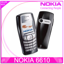 6610 Original Nokia 6610 unlocked phone with Russian and Arabic keyboard and Language Drop shipping