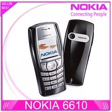 6610 D'origine Nokia 6610 téléphone débloqué avec Russe et Arabe clavier et Langue Drop Shipping