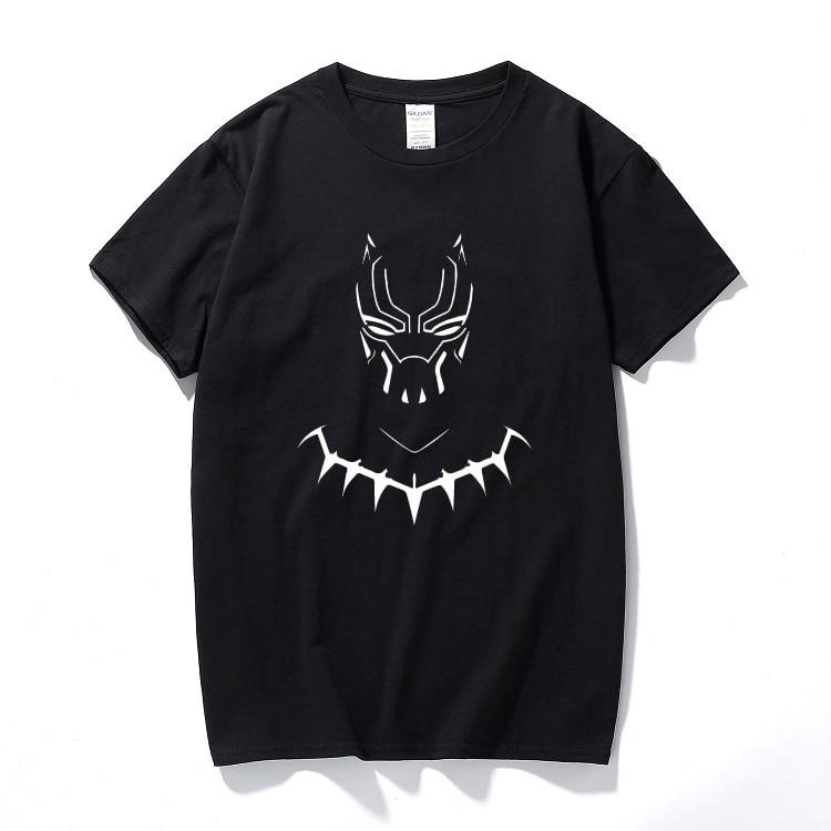 c969e4ce91d2 Black panther t shirt Africa Map Fresh Design mens t shirts Printing ...