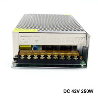 AC to DC Industrial Power Supply Constant Voltage 42V Adjustable Rated Power 250W DC motor Power Supply