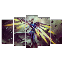 5 Piece Canvas Art Free Shipping Print Wall Painting Canvas Art Printed Angel Animation