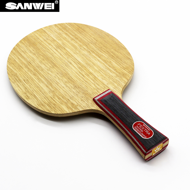 Sanwei FEXTRA 7 (Nordic VII) Tischtennis Klinge (7 Ply Holz, Japan Tech, STIGA Clipper CL Struktur) Schläger Ping Pong Bat Paddel