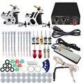 ITATOO Tatuagem Kit Máquina de Tatuagem Barato Definir uma Caneta Kit Tinta de Tatuagem Machine Gun Suprimentos Para Jóias TK108014 Arma Profissional