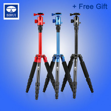Sirui Aluminum Mini /Lighweiht Tripod+Ball Head 3in1 Kit Professional For Digital Camera Support Stand Holder T005KX+C10
