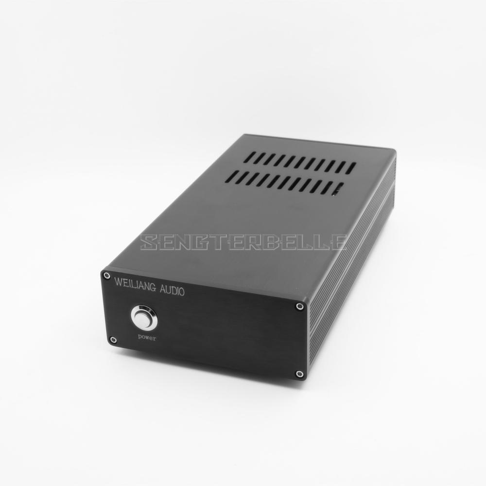 Черный 120VA DC Линейный Питание постоянного тока выход 5V 9V 12V 15V 18V 24 V, Hi Fi, БП можно выбрать - 4