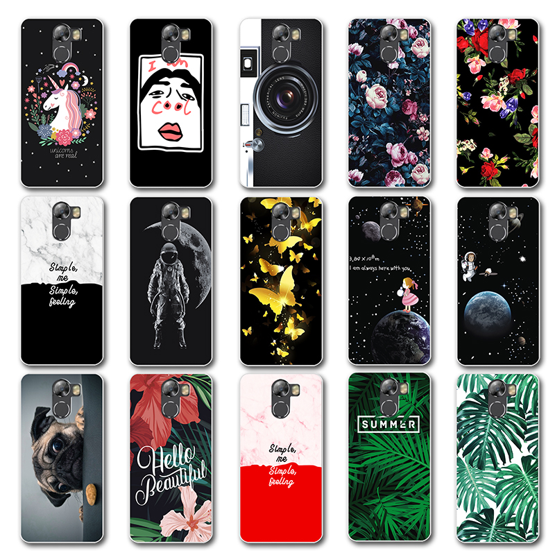 Newest Fashion Lovers Phone Case Capa For Wileyfox Swift2 2Plus Chic Leaves Soft TPU Back Cover For Wileyfox Swift 2 / 2 Plus 5