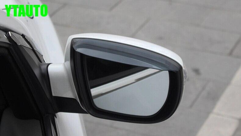Auto rear view mirror rain shield deflector For Hyundai IX35 ,2pcs/lot