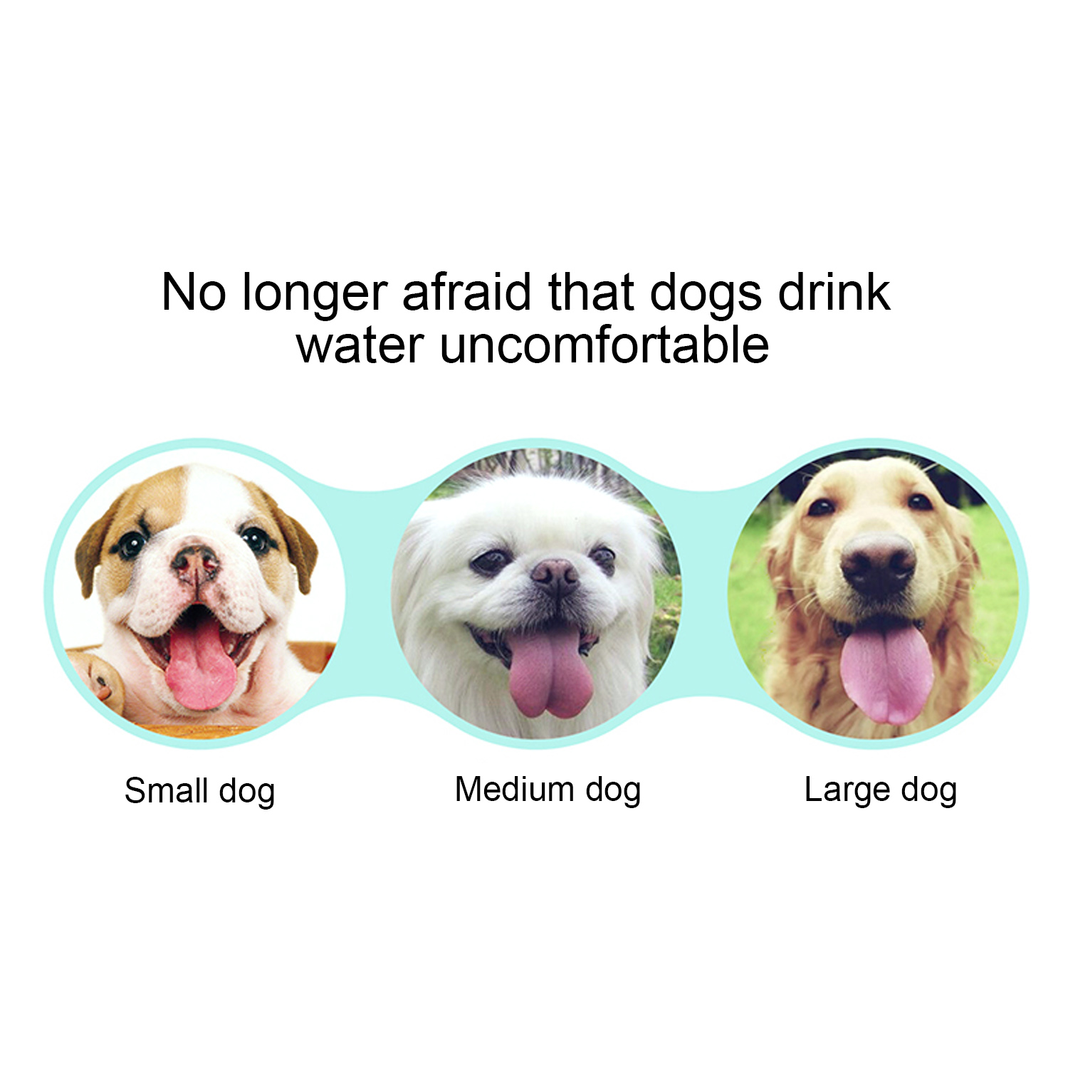 Canine - 350 ml Pet Dog Cat Drinking Water Feeder Bottle Dispenser for Walking Camping Hiking Travelling Activities