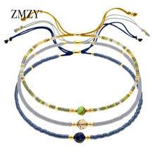 ZMZY MIYUKI Armband Schmuck Multicolor Mode Armbänder Mit Naturstein Handgemachte Frauen Geschenke Dropshipping