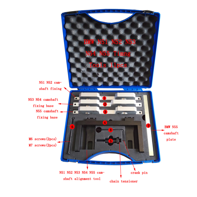 Vanos Camshaft Timing Volante Conjunto de Ferramentas Para BMW N51 N52 N53 N54 N55 E93 E60 E64 E66 525I 528I