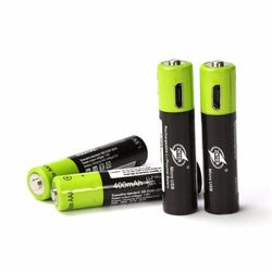 Akumulator aaa Znter 600mah Mirco USB 1.5v akumulator litowo-polimerowy z kablem ładującym