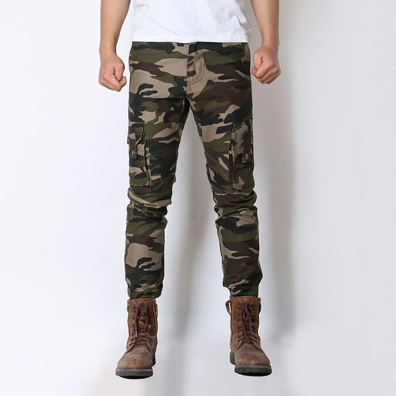 Tactical Pants 2018 New Arrivals Military Men Camouflage Cargo Pants Camo Army Male Clothing Work Combat Straight Fit Trousers