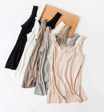 Fashion New Summer Soft Women Silk Sleeveless Vest underwaist Garment Camisoles Tanks Sport wear YH84