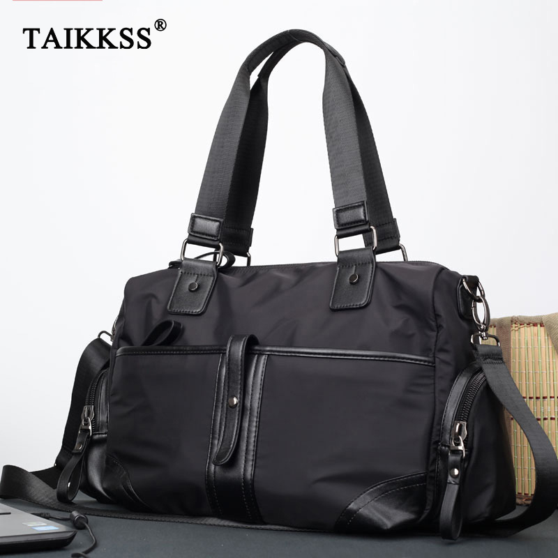 Fashion Men Travel Bags Men Handbags shoulder Bag Oxford High quality Large Capacity Men Zipper Bag