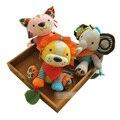 15 cm * 23 cm Popular de la Historieta Sonajeros Para Bebés Sut Comodidad Suave Animales de Peluche de Juguete Muñecas y Juguetes Rellenos bebé Juguetes Muñeca Bnqriuedos