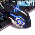 Gaming Mouse Mause Ratones Ópticos Informáticos DPI Ajustable LLEVÓ Juego Con Cable USB Cable Del Ratón LOL Juegos para Jugadores Profesionales
