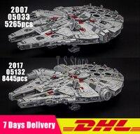 Lepin Star War 05007 05033 05132 Millennium Falcon Building Blocks Bricks Model Toys Compatible Legoinglys 75105 10179 75192