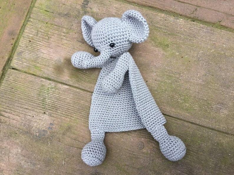 Crochet Toys  Amigurumi  Handmade DOLL Elephant   Number  HH012