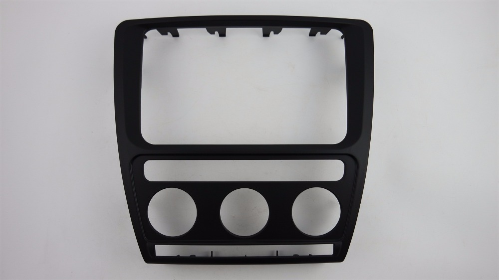 Facia for Skoda Octavia Automatic Aircon 2004 2010 Radio DVD Stereo CD Panel Dash Kit Trim