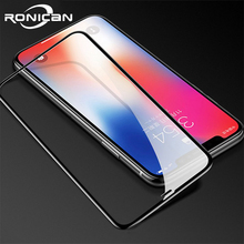 Full Cover Tempered Glass on iPhone XR 11 Pro MAX Screen Protector for iPhone X XR 3D Curved Edge Protective Glass Screen Film