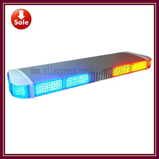 Super bright LED traffic light, LED warning lightbar with 100W siren 100W speaker, 560 LED, DC12V, Super bright (TBD-GA-08325I)