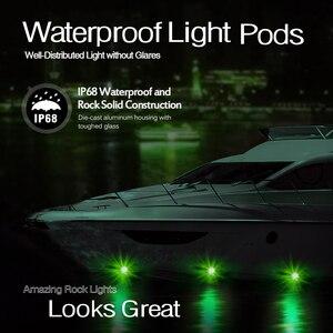 Image 3 - MICTUNING 4 Pods samochodów RGB LED Rock oświetlenie dekoracyjne w/Bluetooth kontrola aplikacji funkcja odliczania czasu tryb muzyczny Multicolor neonowe lampy zestaw