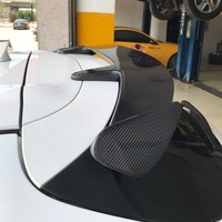Auto Spoiler For Mazda 3 AXELA Hatchback 2014 2015 2016 2017 2018 Carbon fiber ABS Resin Spoilers High Quality Car Accessories
