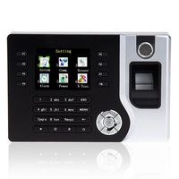 Support French Spanish Language TCP/IP A C071 Fingerprint + RFID Card Time Attendance Time Recorder Fingerprint Time Clock