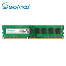 SNOAMOO nowy pulpit PC DDR3 2 GB 4 GB 1333 1600 MHz PC3-12800S pamięci 8 GB 1600 MHz 240pin DIMM dla komputer AMD dożywotnia gwarancja tanie tanio 1333MHz 1600MHz NON-ECC DDR3 4GB 9-9-9-24 Pojedyncze 1 5 V Stock