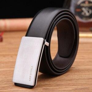 Designer Belts Men High Quality Genuine Leather Belt h Buckle Brand For Business Men Luxury Leather Belt h Belt Free Shipping(China)