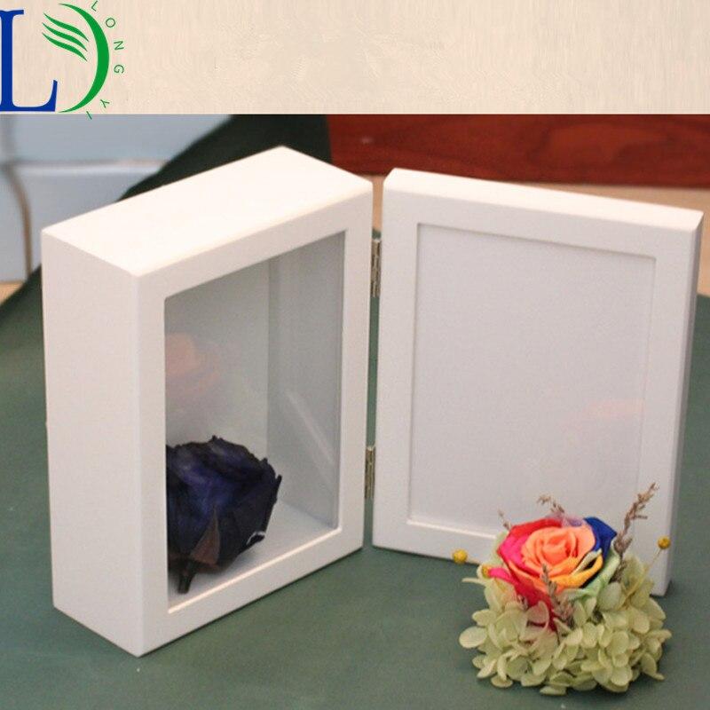 Europäische Holz Aufbewahrungsbox Phote Rahmen Holz Hochzeit ...