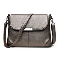 Fashion Women S Genuine Leather Messenger Bag Vintage Women Totes Bags Female Shoulder Messenger Crossbody Bags