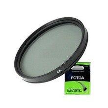 Fotga 49mm Circulaire Polarisatiefilters CPL C PL Filter Lens voor Canon Nikon Sony Olympus Camera lens accessoires 49mm