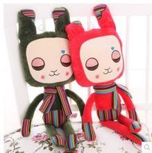 Free shipping  62cm Lovely cartoon Stuffed Cloth Doll Plush Toy  Rabbit Doll Angela Christmas Girl Birthday Gift