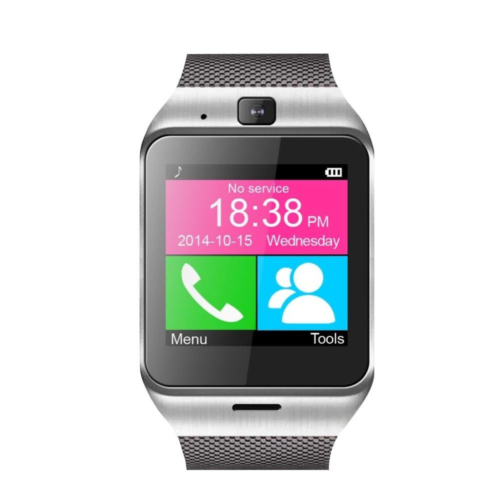 2016 New Aplus GV18 Reloj Sync Notifier Support Sim Card GPS Bluetooth Connectivity Apple iphone Android