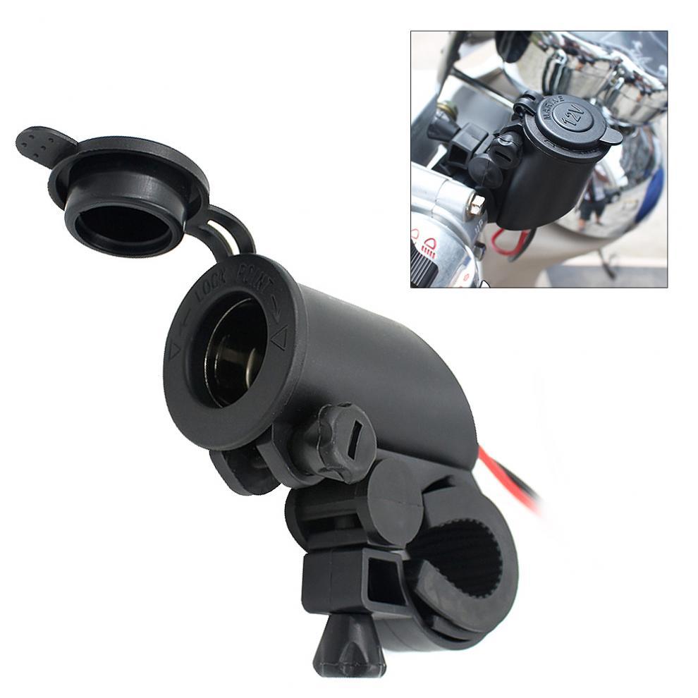 Водонепроницаемый 12 В до 5 В мотоциклетный руль, прикуриватель, USB зарядное устройство, штепсельная розетка, зарядное устройство, адаптер