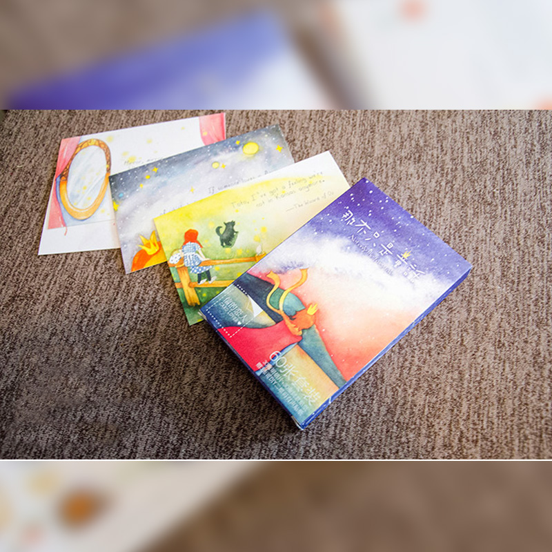 30 pcs/pack Creative Not Only Fairy Tale Greeting Card Postcard Birthday Gift Card Set Message Card creative infeel me postcard to my dears postcard bookmarks diy card gift postcard for friends