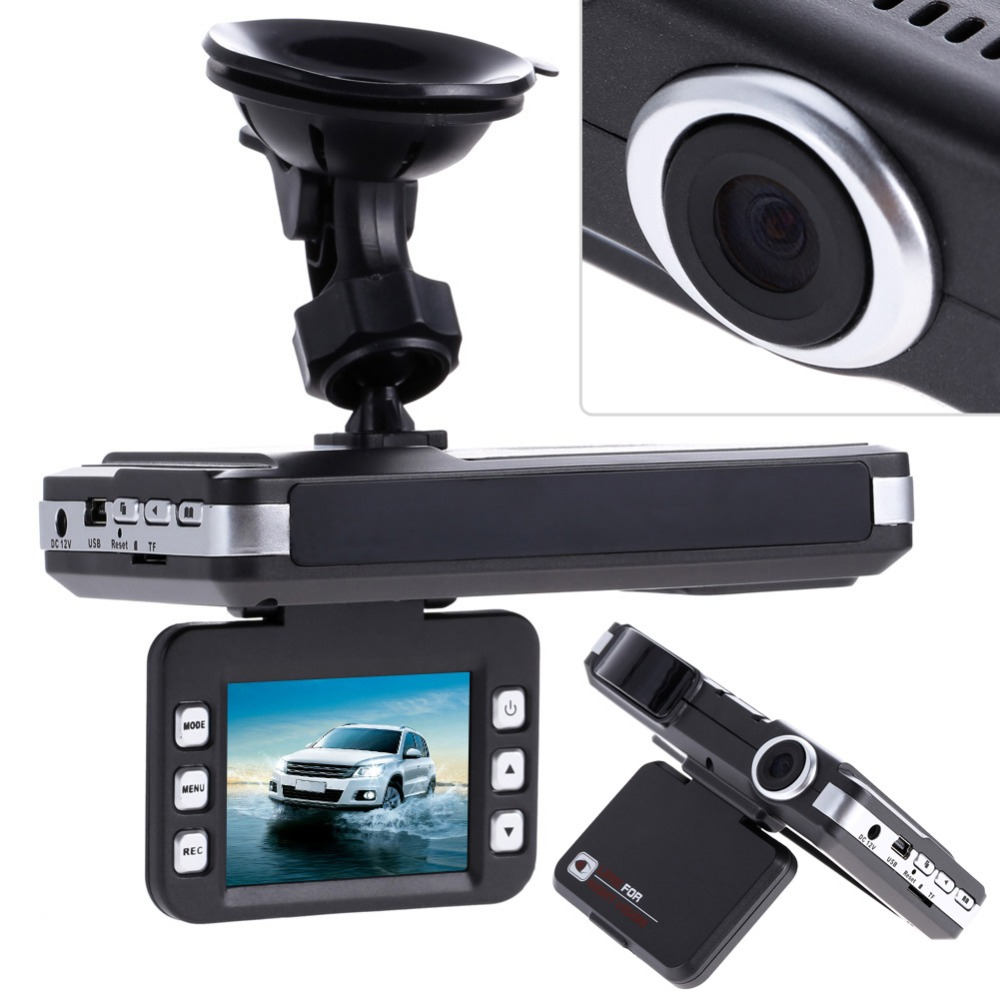 ФОТО 2 in 1 Car DVR Camera 140 Degree Video Recorder G-Sensor Night Vision + Radar Laser Speed Detector Anti-Police Radar Detect