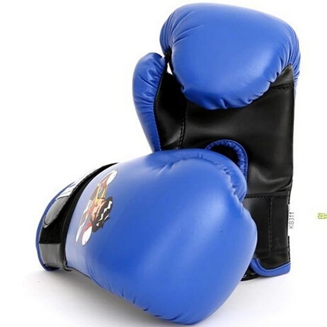 3cafc92e6 Luvas De Boxe para Crianças idade 4-13 Cores Vermelho Azul Wushu Luta
